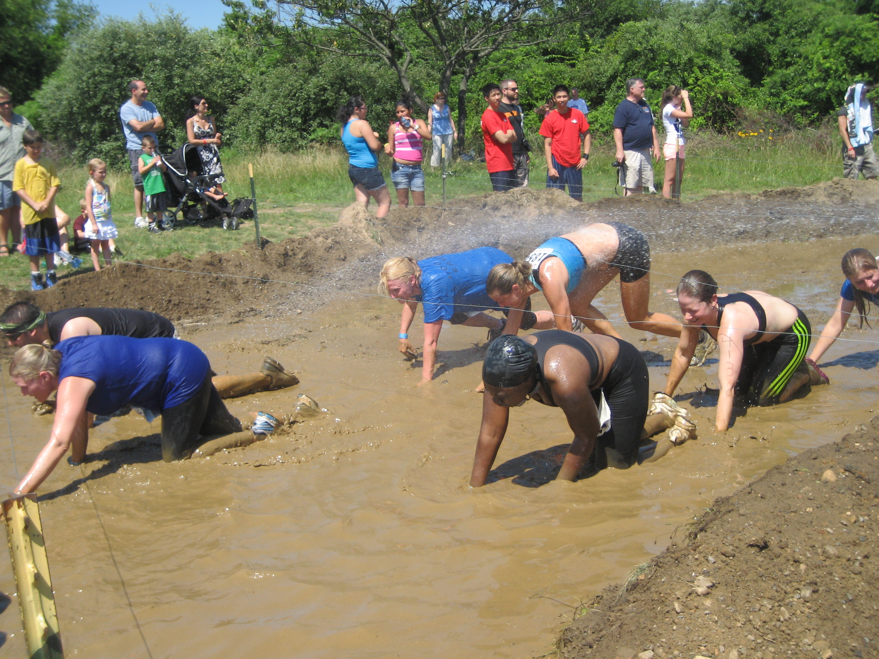 Rugged Maniac Race Pictures Long Island Boot Camp