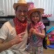 Alyssa and I at her 4th B-day party.