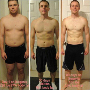 Joel lost 25 pounds and 12% body fat in 90 days