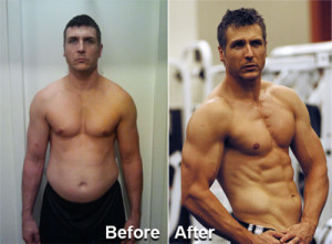 Russell R followed the plan for 10 Weeks and went from Average Joe to Cover Model Ready