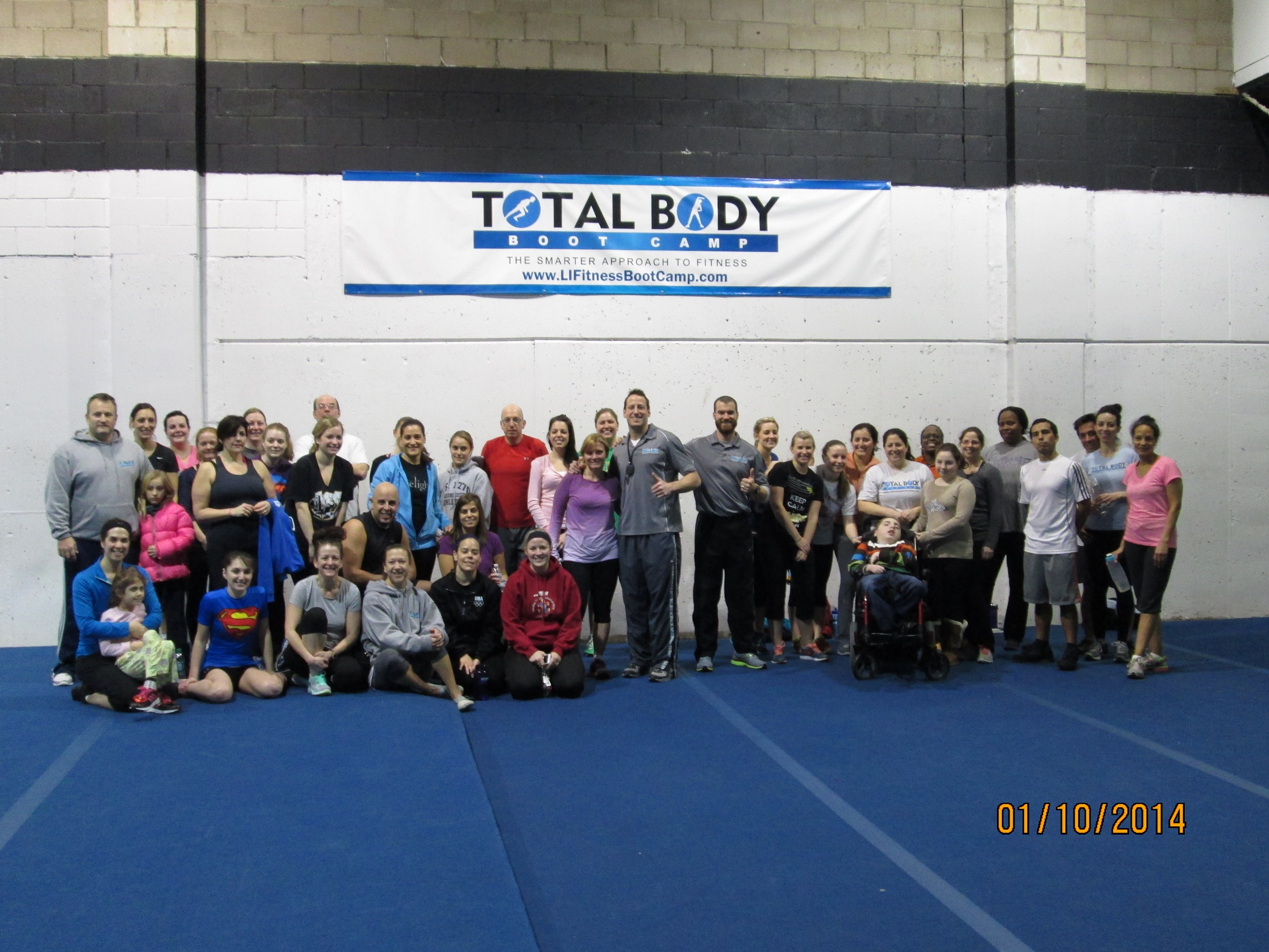 Boot Camp for a Cause a HUGE Success!!!
