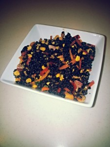 BlackRiceWithSpicyVinagrette