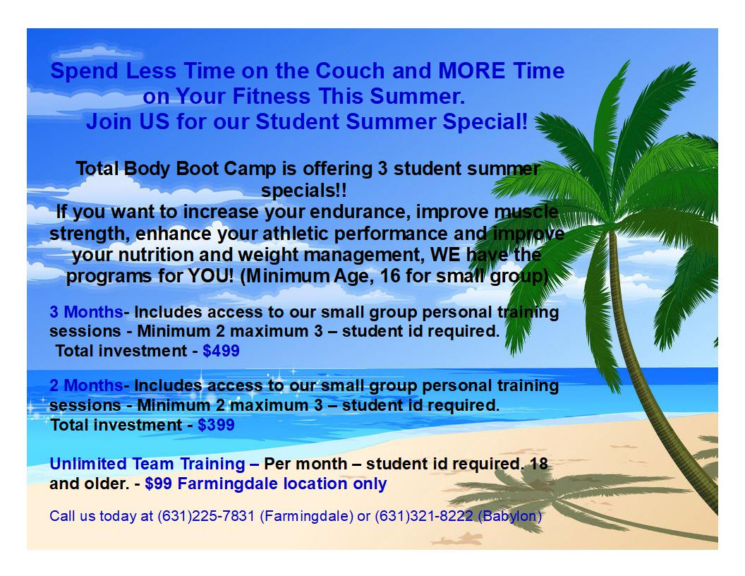 Student Summer Special at TBBC