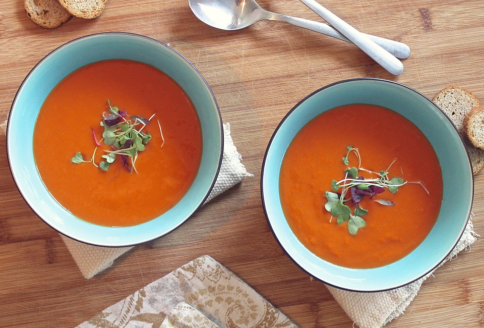 Creamy Tomato Soup with Chicken